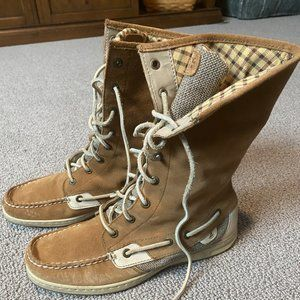 Sperry Top Sider Ladyfish boots 9.5 M